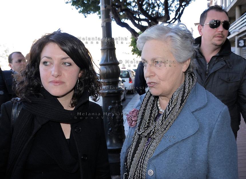 Rita Borsellino a Palermo.