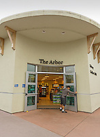 "Staff and Students fuel up ath the main campus store ""The Arbor"""