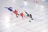 SCHAATSEN: HEERENVEEN: IJsstadion Thialf, 06-12-2016, ISU World Cup-training, ©foto Martin de Jong