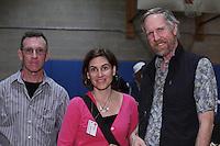 Origami designers and folders (L to R): Tom Crain, Connecticut, Beth Johnson, Michigan, and Bernie Peyton, California.