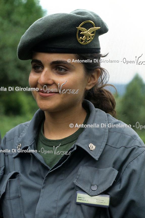 Donne Forestali. Corso di addestramento. Forestry women. Training course...