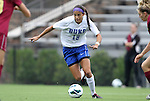 19 August 2012: Duke's Kim DeCesare. The Duke University Blue Devils defeated the Elon University Phoenix 8-0 at Koskinen Stadium in Durham, North Carolina in a 2012 NCAA Division I Women's Soccer game.