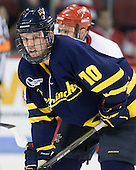 Bobby Kramer (Merrimack - 10) - The visiting Merrimack College Warriors tied the Boston University Terriers 1-1 on Friday, November 12, 2010, at Agganis Arena in Boston, Massachusetts.