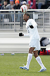 5 November 2006: Duke's Darrius Barnes. Duke defeated Wake Forest 1-0 in overtime at the Maryland Soccerplex in Germantown, Maryland in the Atlantic Coast Conference college soccer tournament final.