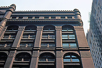Burnham & Root: Rookery Building. 1886. Roofline.  Photo '77.