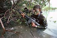 Special Force, April 1982. Amphibious unit training in Key West, Florida.