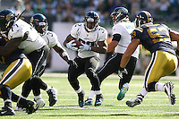 09/18/11 East Rutherford, NJ: Jacksonville Jaguars running back Maurice Jones-Drew #32 during an NFL game played at Met Life Stadium between the New York Jets and the Jacksonville Jaguars. The Jets defeated the Jaguars 32-3