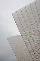Into Silent Skies. Images of Sydney Opera House Roof Shells, Australia