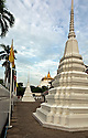 TH00392-00...THAILAND - The Golden Mount (Phu Khao Thong) and Wat Saket in Bangkok.