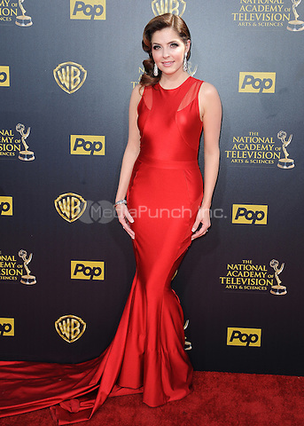 BURBANK, CA - APRIL 26:  Jen Lilley at the 42nd Annual Daytime Emmy Awards at Warner Brothers Studios on April 26, 2015 in Burbank, California. Credit: PGSK/MediaPunch