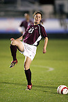 Boston College's Mary Schneck on Wednesday, November 2nd, 2005 at SAS Stadium in Cary, North Carolina. The Duke University Blue Devils defeated the Boston College Eagles 2-0 during their Atlantic Coast Conference Tournament Quarterfinal game.