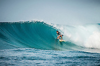 Four Seasons, Maldives (Monday, July 13, 2015) The swell was out of the south east today with waves in the 3'-5' range.  There were surf session at Sultans with clean faces due to the SW winds. There were scud showers on and off during the day with SW winds. Photo: joliphotos.com