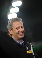 FUSSBALL   1. BUNDESLIGA   SAISON 2011/2012    17. SPIELTAG Borussia Moenchengladbach - FSV Mainz 05             18.12.2011 Trainer Lucien Favre (Borussia Moenchengladbach)