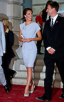 CATHERINE, DUCHESS OF CAMBRIDGE attends The UK's Creative Industries Reception - London