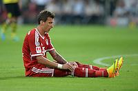 FUSSBALL   1. BUNDESLIGA   SAISON 2013/2014   SUPERCUP Borussia Dortmund - FC Bayern Muenchen           27.07.2013 Mario Mandzukic (FC Bayern Muenchen)
