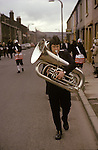 Bacup Coconut Bancers silver Band folklore music Easter UUk.