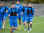 St Johnstone Training&hellip;..21.10.16<br />Danny Swanson pictured during training ahead of Sunday&rsquo;s game against local rivals Dundee<br />Picture by Graeme Hart.<br />Copyright Perthshire Picture Agency<br />Tel: 01738 623350  Mobile: 07990 594431