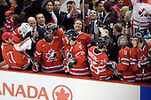 Chet Pickard (Canada - 31), PK Subban (Canada - 5), ?, Thomas Hickey (Canada - 4), Guy Boucher (Canada - Assistant Coach), Chris Di Domenico (Canada - 25), Ryan Ellis (Canada - 8), ? - Canada defeated Sweden 5-1 (2 en) in the 2009 World Junior Championship gold medal game on Monday, January 5, 2009, at Scotiabank Place in Kanata (Ottawa), Ontario.  This was the second consecutive year that Canada won gold and Sweden won silver after Canada defeated Sweden in overtime in 2008 and was Canada's fifth consecutive gold.
