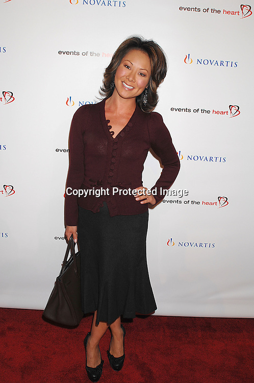 """Alina Cho..arriving at """"Events of the Heart"""" Gala on October 1, 2007 ..at Jazz at Lincoln Center.....Photo by Robin Platzer, Twin Images....212-935-0770"""