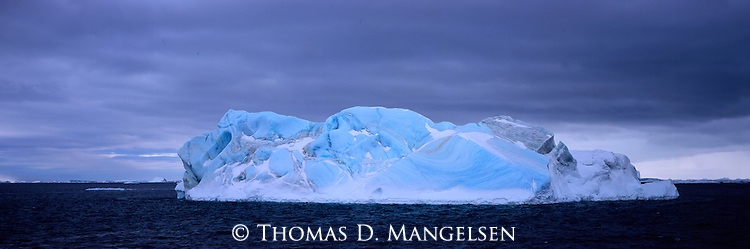 Iceberg floating in the Antarctic Sound.
