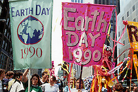 Earth Day Parade and festival in New York on Earth Day, April 22, 1990. (© Frances M. Roberts)