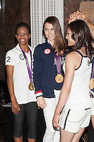 The gold medal-winning US Women's Gymnastics Team