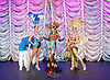 The Ladyboys of Bangkok <br /> Forever Yours&hellip;.X<br /> part of the Brighton Fringe Festival <br /> at the Sabai Pavillion, Victoria Gardens, Brighton, Great Britain <br /> Creative Director Phillip Gander <br /> <br /> Press photocall <br /> 11th May 2016 <br /> =<br /> <br /> Sonia (Mr Uten Pengsa Ard) - centre <br /> The Dance Captain (lead dancer) of the Lady Boys of Bangkok <br /> <br /> Photograph by Elliott Franks <br /> Image licensed to Elliott Franks Photography Services