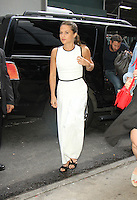 NEW YORK, NY-July 25: Alicia Vikander at Good Morning America to talk about new movie The Light Between Oceans in New York. NY July 25, 2016. Credit:RW/MediaPunch