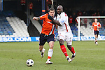 Blue Square Bet Premier.  Luton Town FC v Tamworth FC 18 February 2012, Kenilworth Road