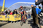 Marko Kump (SLO) UAE Team Emirates at sign on for the 115th edition of the Paris-Roubaix 2017 race running 257km Compiegne to Roubaix, France. 9th April 2017.<br /> Picture: Eoin Clarke | Cyclefile<br /> <br /> <br /> All photos usage must carry mandatory copyright credit (&copy; Cyclefile | Eoin Clarke)