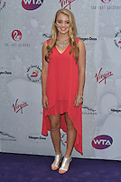 Katie Swan at WTA pre-Wimbledon Party at The Roof Gardens, Kensington on june 23rd 2016 in London, England.<br /> CAP/PL<br /> &copy;Phil Loftus/Capital Pictures /MediaPunch ***NORTH AND SOUTH AMERICAS ONLY***