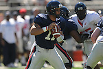 Ole Miss' Barry Brunetti (11) at Vaught-Hemingway Stadium in Oxford, Miss. on Saturday, April 2, 2011.