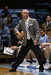 08 November 2008: UNC head coach Roy Williams. The University of North Carolina Tarheels defeated the University of North Carolina at Pembroke Braves 102-62 at the Dean E. Smith Center in Chapel Hill, NC in an NCAA exhibition basketball game.