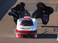Feb 24, 2017; Chandler, AZ, USA; NHRA funny car driver Del Worsham during qualifying for the Arizona Nationals at Wild Horse Pass Motorsports Park. Mandatory Credit: Mark J. Rebilas-USA TODAY Sports