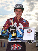 Richie Worrall receives the Lakeside Hammers rider of the month award - Lakeside Hammers vs Swindon Robins at the Arena Essex Raceway, Pufleet - 18/06/12 - MANDATORY CREDIT: Rob Newell/TGSPHOTO - Self billing applies where appropriate - 0845 094 6026 - contact@tgsphoto.co.uk - NO UNPAID USE..