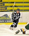 12 February 2011: University of New Hampshire Wildcat forward Kristine Horn, a Sophomore from Utica, MI, in action against the University of Vermont Catamounts at Gutterson Fieldhouse in Burlington, Vermont. The Lady Wildcats defeated the Lady Cats 2-0 to split their Hockey East twin game weekend series. Mandatory Credit: Ed Wolfstein Photo