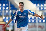 St Johnstone FC Season 2012-13.Gareth Rodger.Picture by Graeme Hart..Copyright Perthshire Picture Agency.Tel: 01738 623350  Mobile: 07990 594431