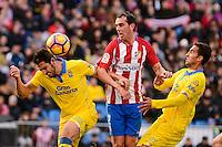 ATLETICO DE MADRID v UD LAS PALMAS. La Liga 2016-2017.