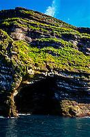 Vestmannaeyjar Islands off the south coast of Iceland. Heimaey is the main island.