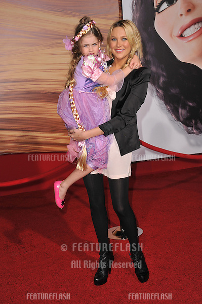 "Stephanie Pratt & niece Ava at the world premiere of ""Tangled"" at the El Capitan Theatre, Hollywood..November 14, 2010  Los Angeles, CA.Picture: Paul Smith / Featureflash"