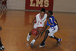 Oxford Middle School vs. Lafayette Middle School's Xavier Hill (15) in boys middle school basketball action in Oxford, Miss. on Thursday, January 17, 2013. Oxford won.
