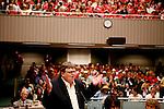 """Michael Moore at Sacramento """"SiCKO"""" premiere."""