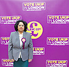 UKIP launch London Manifesto 2016 <br /> with Candidates for mayor and the London Assembly <br /> at the Emmanuel Centre, London, Great Britain <br /> 19th April 2016 <br /> <br /> <br /> <br /> Rathy Alagaratnam<br /> candidate for Brent &amp; Harrow <br /> <br /> <br /> <br /> Photograph by Elliott Franks <br /> Image licensed to Elliott Franks Photography Services