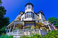 Pentagoet Inn bed and breakfast, Castine, Penobscot Bay, Maine, USA