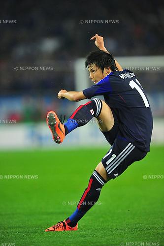Ryo Miyaichi (JPN),.MAY 23, 2012 - Football / Soccer : Ryo Miyaichi of Japan in action during the Kirin Challenge Cup 2012 (international friendly match) between Japan 2-0 Azerbaijan .at Shizuoka Stadium Ecopa in Shizuoka, Japan. .(Photo by AFLO) .