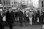 Peace Movement. Peace People. Peace March through London 1976.