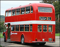 BNPS.co.uk (01202 558833)<br /> Pic: TomWren/BNPS<br /> <br /> A bus enthusiast who once ran into a burning building to rescue a double-decker has saved it again after buying it for a restoration project 40 years later.<br /> <br /> Trevor Shore was an 18-year-old conductor when he repeatedly dashed into a blazing bus station in 1976 to drive three of the vehicles to safety in the nick of time.<br /> <br /> Forty years on and Trevor, 58, from Poole, Dorset, has saved one of the three Bristol FLF Lodekka double-deckers from leaving the country after buying it for &pound;13,000.