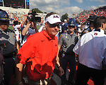 Ole Miss Coach Hugh Freeze vs. Auburn at Vaught-Hemingway Stadium in Oxford, Miss. on Saturday, October 13, 2012. Mississippi won 41-20.
