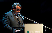 Award ceremony of the ABN AMRO Bank awards for best non-fiction book 2008 in Antwerp (Belgium, 02/04/2009)