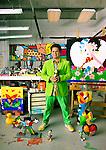 Artist Romero Britto in his Miami studio